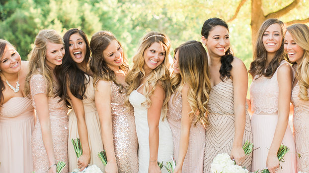 How to Do Mismatched Bridesmaid Dresses | InStyle.com