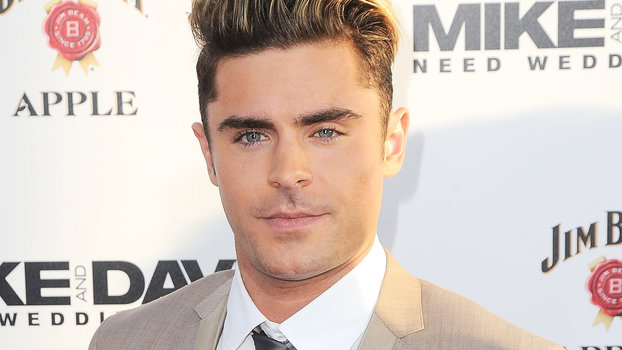 Zac Efron On His Blonde Hair Instyle Com