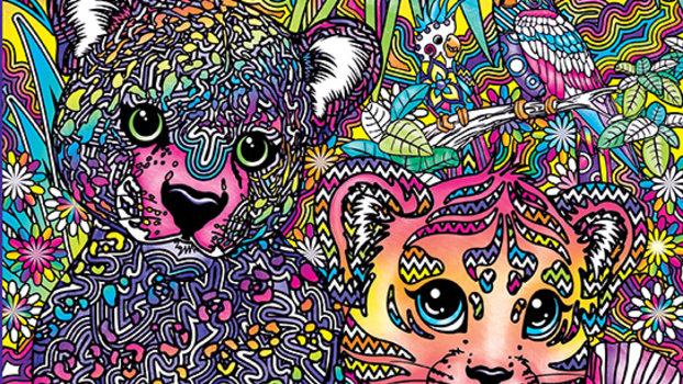 Lisa Frank Adult Coloring Books Exist and Were Psyched  InStylecom