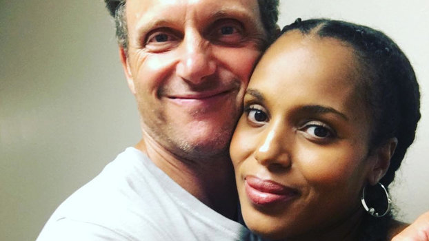 Pregnant kerry washington is back to work on scandal see for Crayola pop art pixies fab snaps jewelry set