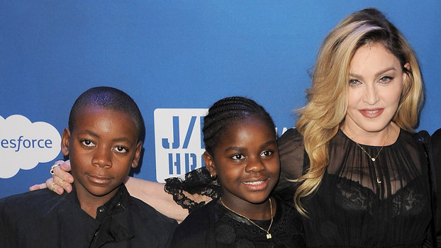 Madonna's Kids Head Back to School | InStyle.com
