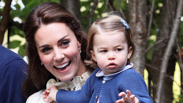 Kate Middleton Wears A Cream Dress For An Afternoon With