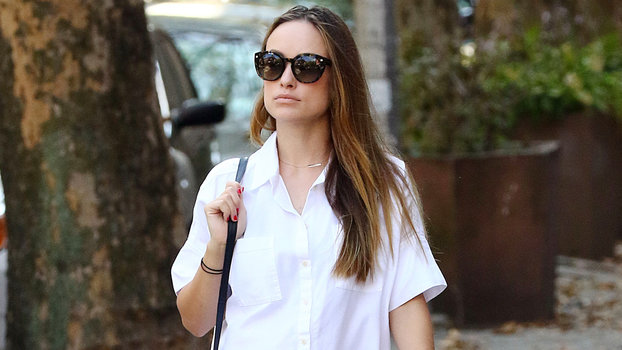 Olivia Wilde Glows During Solo Outing in N.Y.C. Days After ...