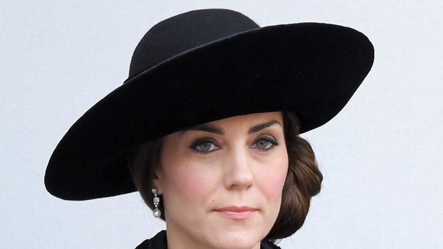 Kate Middleton Dons The Perfect Black DVF Coat For
