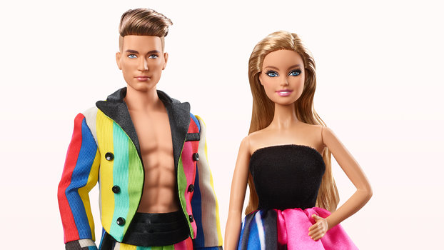 Ken and barbie get a moschino makeover from jeremy scott - Image barbie et ken ...