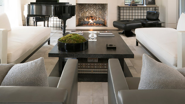 Shop Kourtney Kardashians Sleek Living Room Part 92