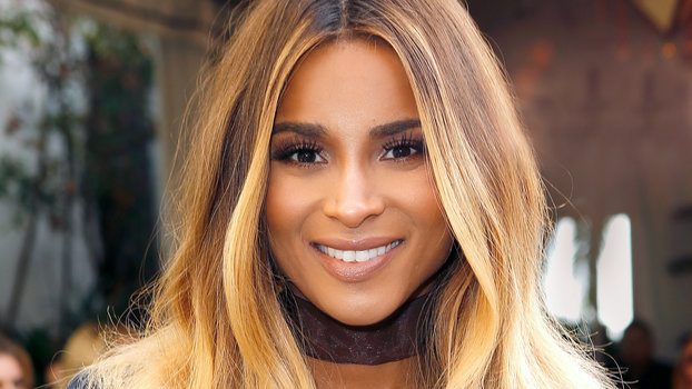 Ciara Side-Swept Bangs | InStyle.com