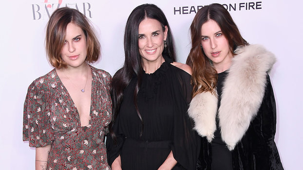 A Family Affair Demi Moore And Her Daughters Hit The Red -1274