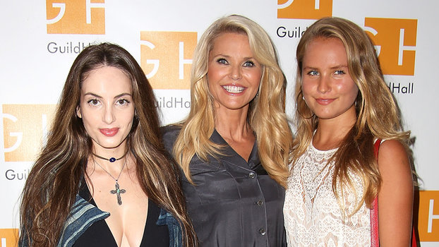 EAST HAMPTON, NY - AUGUST 26:  Alexa Ray Joel, Christie Brinkley, and Sailor Brinkley Cook attend  Celebrity Autobiography  at Guild Hall on August 26, 2016 in East Hampton, New York.  (Photo by Sonia Moskowitz/Getty Images)