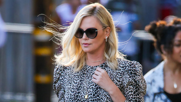 see every look charlize theron has worn on her fast and furious press tour. Black Bedroom Furniture Sets. Home Design Ideas