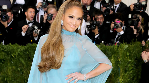 Jennifer Lopez attends the 'Rei Kawakubo/Comme des Garcons: Art Of The In-Between' Costume Institute Gala at Metropolitan Museum of Art on May 1, 2017 in New York City.
