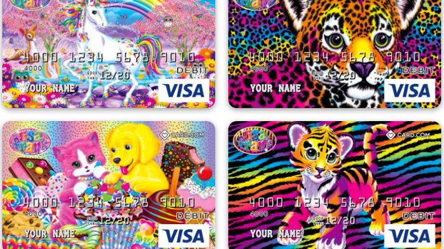 Lisa Frank Debit Cards Are Now A Thing