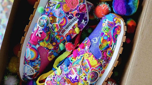 afe3560389be Reebok Made These Lisa Frank Sneakers a Reality