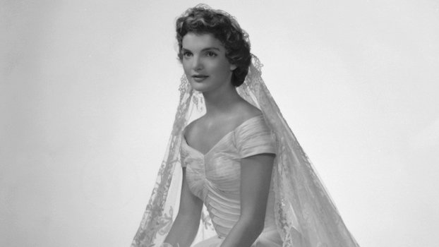 Shop bridal gowns inspired by jaqueline kennedys wedding dress shop bridal gowns inspired by jaqueline kennedys wedding dress instyle junglespirit Choice Image