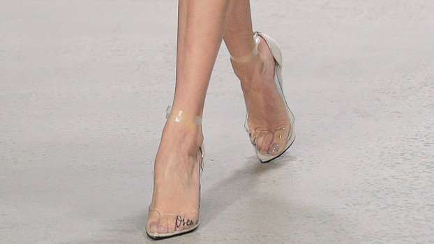 Clear Shoe Trend Instyle Com
