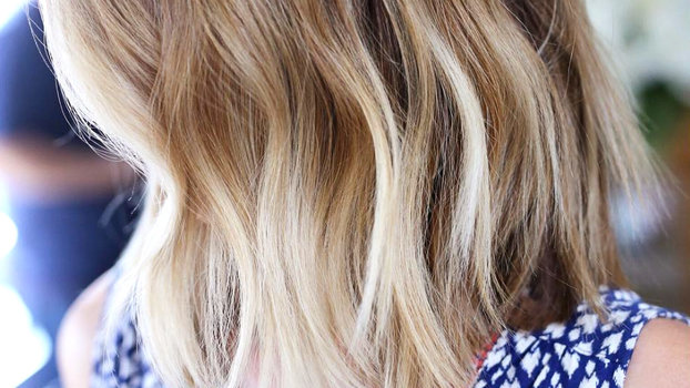 Hair Color In Style: Color Melting Fall Hair Color Highlights Trend