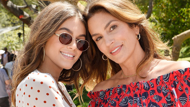 Cindy Crawford and Kaia Gerber Look Like Twins | InStyle.co.uk