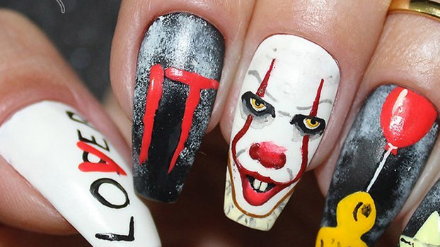 It Pennywise Instagram Nail Art Trend Instyle Com
