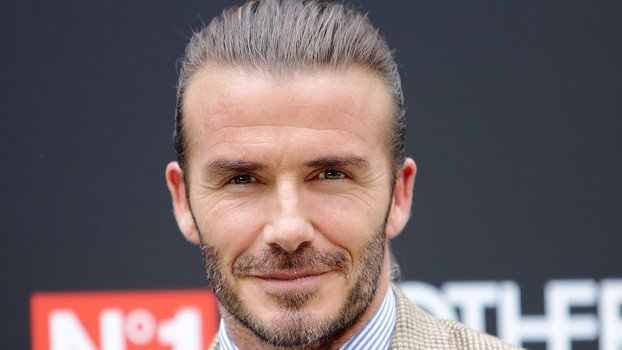 MADRID, SPAIN - JUNE 20:  David Beckham is presented as image for Biotherm Homme at Casa Velazquez on June 20, 2017 in Madrid, Spain.  (Photo by Europa Press/Europa Press via Getty Images)