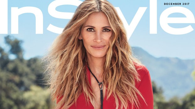 InStyle December - Julia Roberts Sub Cover