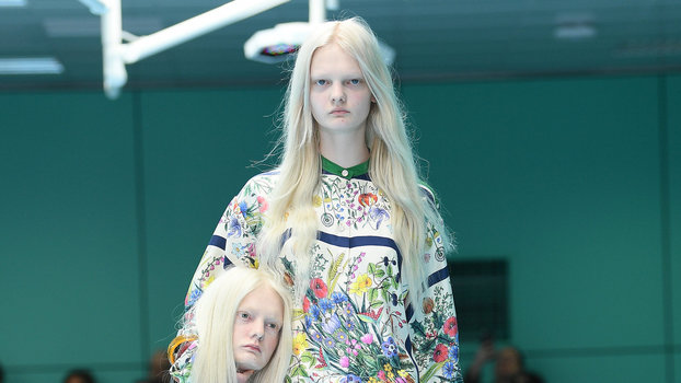 A Gucci Model Carried Her Own Severed Head on the Runway