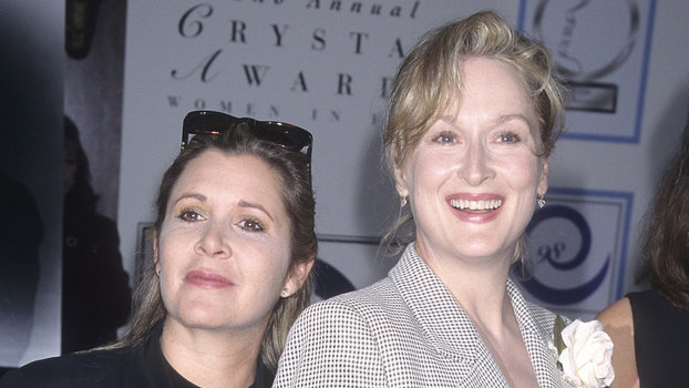 Carrie Fisher Meryl Streep lead
