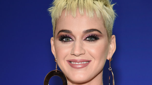 Pinks Hair Style: Katy Perry's Hot Pink Hair Color