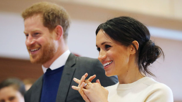 Meghan Markle and Prince Harry lead
