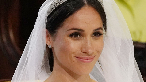 See Meghan Markle S Wedding Day Makeup Instyle Com