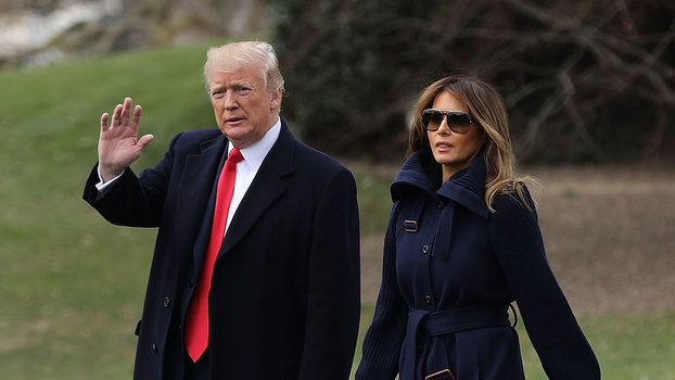 Donald Trump Was Not at the Hospital with Wife Melania for Surgical Procedure That Blind-Sided Her Friends