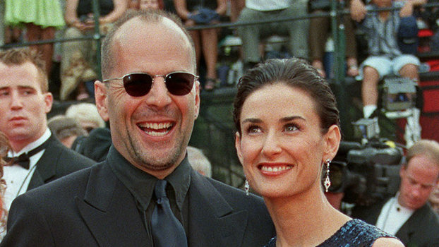 Demi Moore Drags Ex-Husband Bruce Willis in Front of Their Daughters