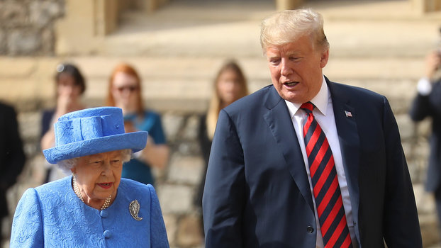 Palace responds to Trump and Prince William rumor lead