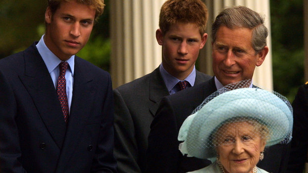 Why Queen Elizabeth's Mom Left More Money to Prince Harry Than Prince William