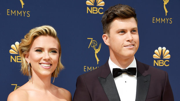 Scarlett Johansson Was Surprised By Colin Jost S Proposal Fashion Sided