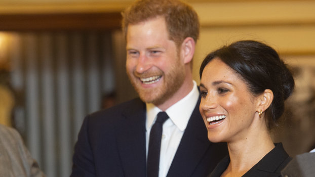The Duke & Duchess Of Sussex Attend A Gala Performance Of 'Hamilton' In Support Of Sentebale