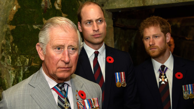 Charles, Harry, and William lead