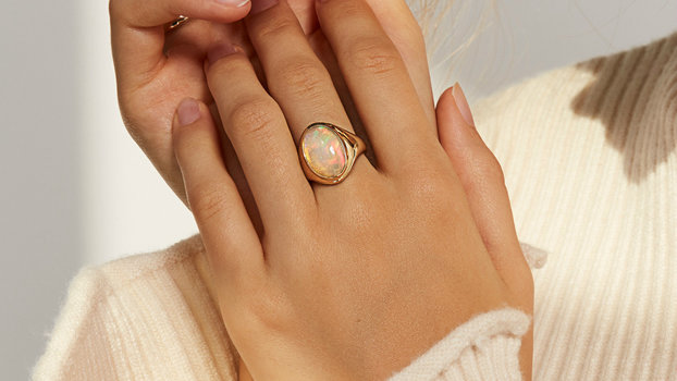 9 Opal Engagement Rings That Will Make You Forget All About Diamonds
