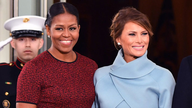 20c6abf3d7e Michelle Obama and Melania Trump Have Very Different Approaches To Their  White House Style