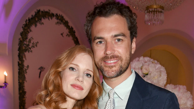 Jessica Chastain and husband lead