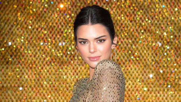 Kendall Jenner Wears A See-Through Dress To The Fashion -7439