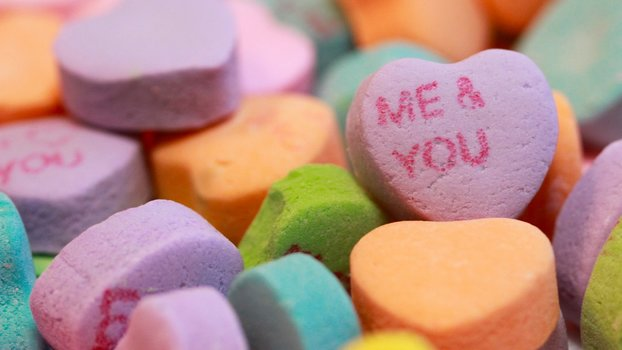 Valentine's Day Sweethearts candy