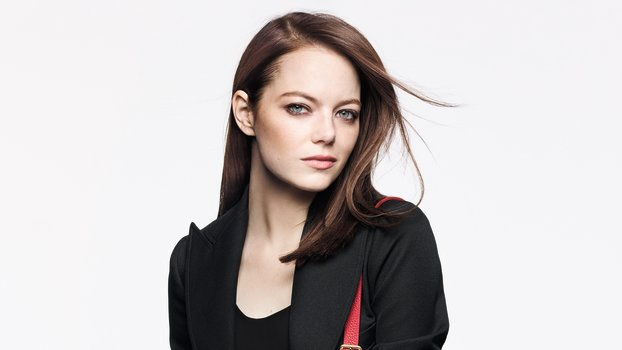 Emma Stone Is Cradling Her Bag Like a Baby in This Louis