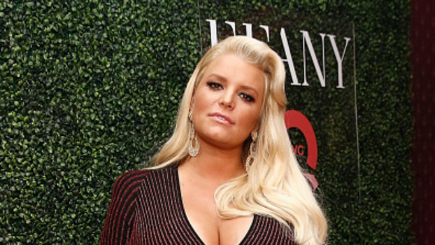 NEW YORK, NY - OCTOBER 11:  Fashion Icon Award Honoree Jessica Simpson attends the 25th Annual QVC 'FFANY Shoes on Sale' Gala at The Ziegfeld Ballroom on October 11, 2018 in New York City.  (Photo by Brian Ach/Getty Images)