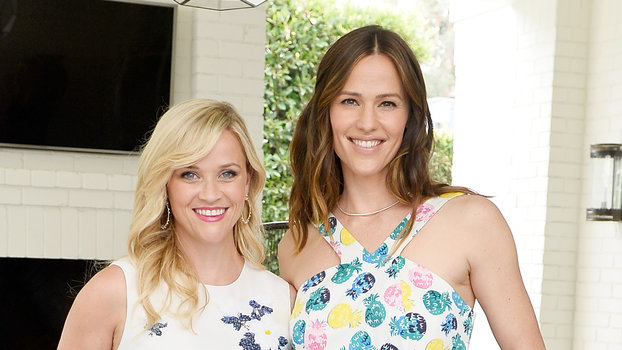 """Reese Witherspoon Celebrates Jennifer Garner's Birthday by Toasting Their """"Pretend Babies"""""""