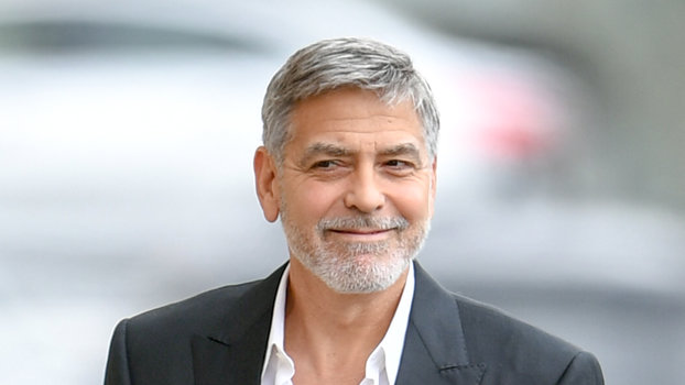 George Clooney's Twins Are Already Pulling Pranks   InStyle com