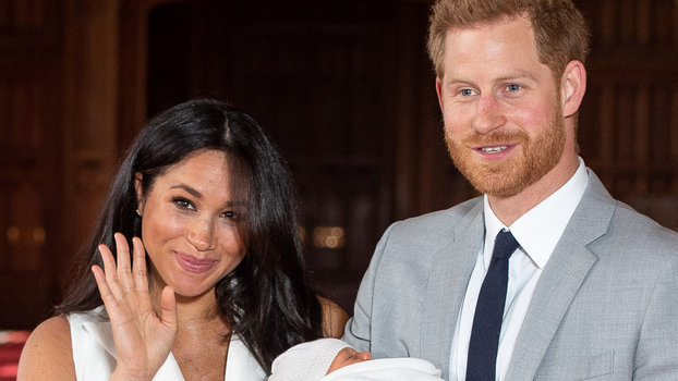 Meghan Markle and Prince Harry Just Released Baby Archie's Official Christening Portraits