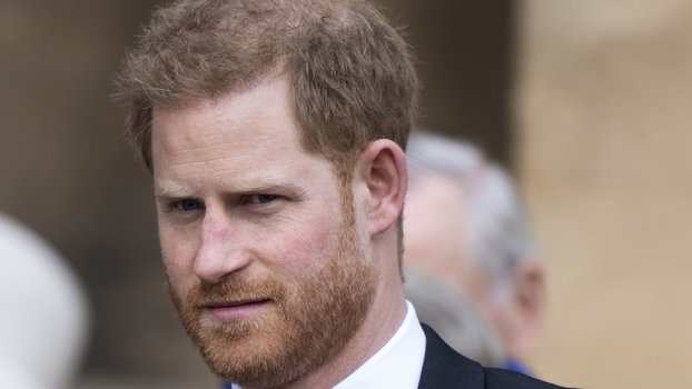 Prince Harry Returns to St. George's Chapel Ahead of First Wedding Anniversary — Without Meghan Markle