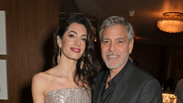 Amal and George Clooney Are the Rare Couple That Can Pull Off Matching Date Night Looks