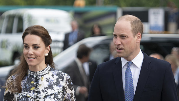 LONDON, ENGLAND - MAY 20: Catherine, Duchess of Cambridge and Prince William at the RHS Chelsea Flower Show 2019 press day at Chelsea Flower Show on May 20, 2019 in London, England. (Photo by Geoff Pugh - WPA Pool/Getty Images)
