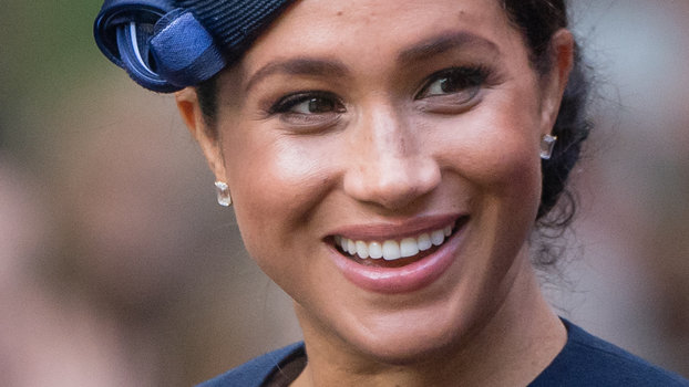 LONDON, ENGLAND - JUNE 08: Meghan, Duchess of Sussex ridea by carriage down the Mall during Trooping The Colour, the Queen's annual birthday parade, on June 08, 2019 in London, England. (Photo by Samir Hussein/Samir Hussein/WireImage)